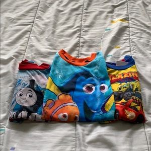 Other - Lot of 3 boys pajama tops - size 4T